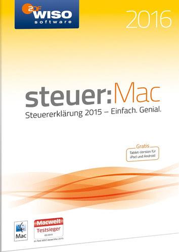 Verpackung von WISO steuer:Mac 2016 (für Steuerjahr 2015) [Mac-Software]