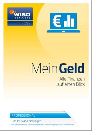 WISO Mein Geld Professional 2017, Box (PC)