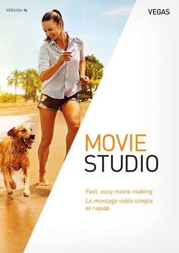Packaging by VEGAS Movie Studio 14 [PC-software]