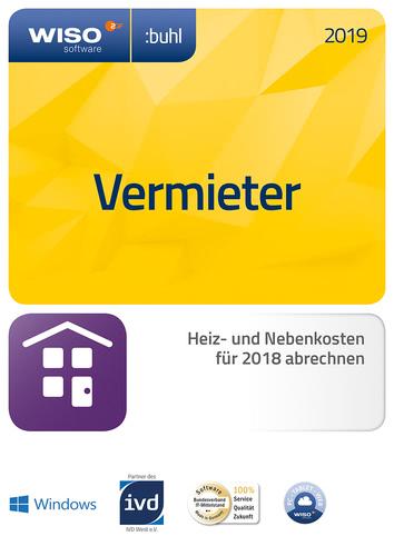 Verpackung von WISO Vermieter 2019 [PC-Software]