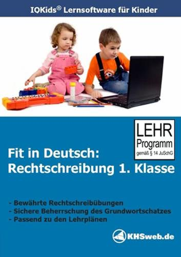 Verpackung von Fit in Deutsch Rechtschreibung 1. Klasse [PC-Software]