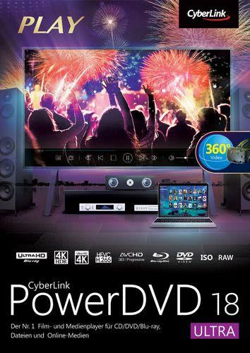Verpackung von PowerDVD 18 Ultra [PC-Software]