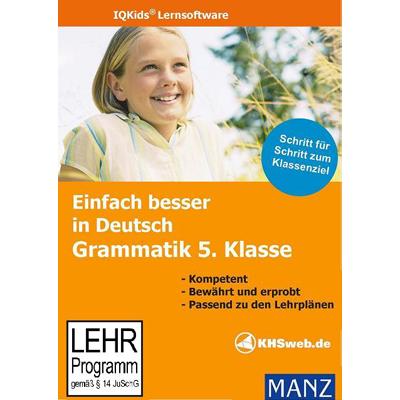 Verpackung von Einfach besser in Deutsch Grammatik 5. Klasse [PC-Software]