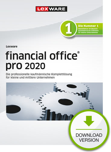 Lexware Financial Office 2020 Pro Jahresversion 365 Tage