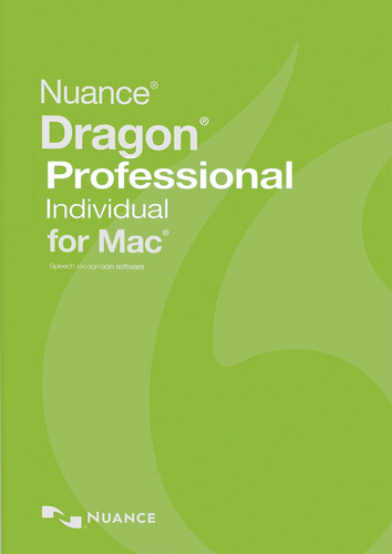 Packaging by Nuance Dragon Professional Individual 6.0 for Mac [Mac-software]