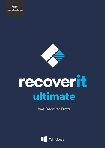 Verpackung von Wondershare Recoverit Ultimate [PC-Software]