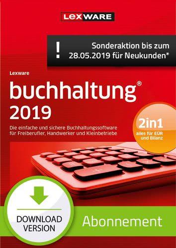 Verpackung von Lexware buchhaltung 2019 Abonnement (Aktionspreis) [PC-Software]