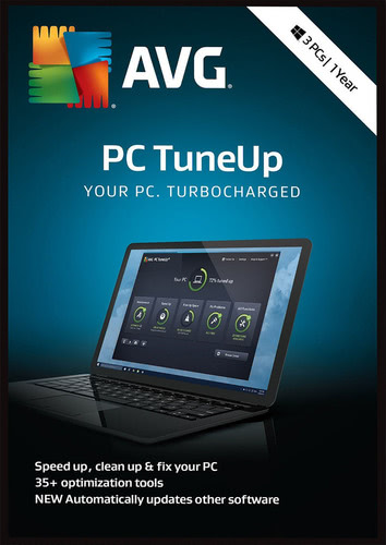 Packaging by AVG PC TuneUp 2018 3 PC / 12 months [PC-software]