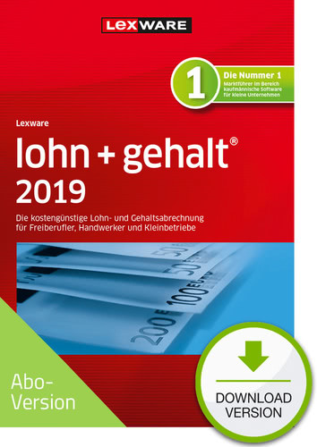 lohn+gehalt 2019 Download – Abo Version (Download), PC