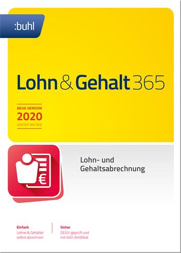 Verpackung von WISO Lohn & Gehalt 365 [PC-Software]