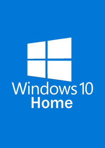 Microsoft Windows 10 Home 64 Bit DVD OEM Version