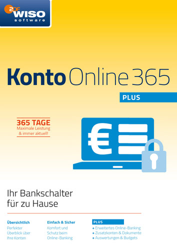 WISO Konto Online Plus 365 Tage (Version 2018),...
