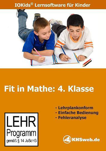 Verpackung von Fit in Mathe 4. Klasse [PC-Software]