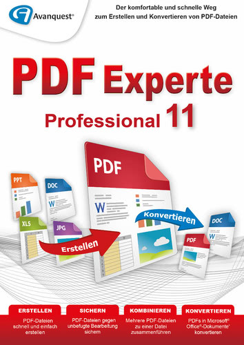 Verpackung von PDF Experte 11 Professional [PC-Software]
