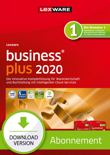 Verpackung von Lexware business plus 2020 - Abo-Version [PC-Software]