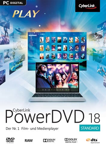 CyberLink PowerDVD 18, ESD (Download) (PC)