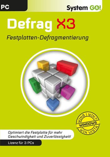 Verpackung von Defrag X3 [PC-Software]