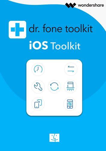 Verpackung von Dr. Fone für iOS [Mac-Software]