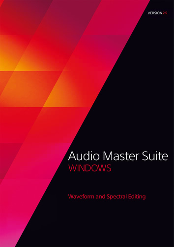 Packaging by Audio Master Suite 2.5 [PC-software]