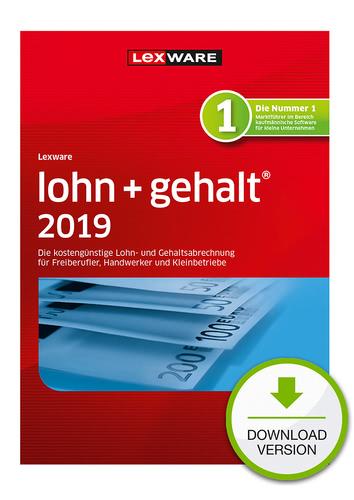 Verpackung von Lexware lohn+gehalt 2019 [PC-Software]
