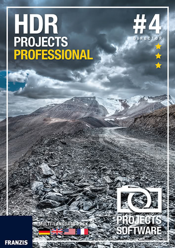 Verpackung von HDR projects 4 professional [Mac-Software]