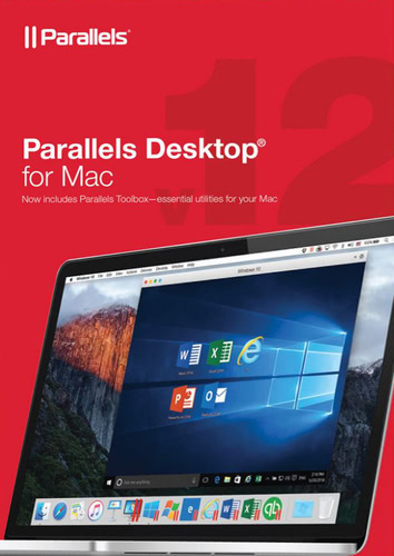 Packaging by Parallels Desktop 12 for Mac [Mac-software]