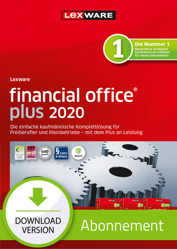 Verpackung von Lexware financial office 2020 plus - Abo-Version [PC-Software]