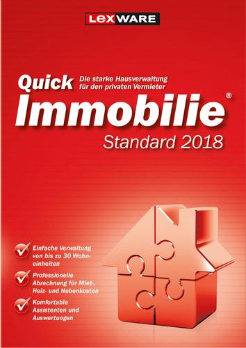 Verpackung von Lexware QuickImmobilie Standard 2018 Jahresversion (365-Tage) [PC-Software]