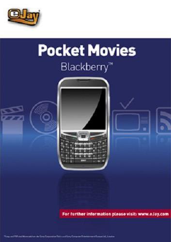 Verpackung von eJay Pocket Movies für Blackberry [PC-Software]