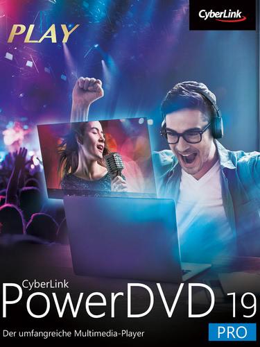 Verpackung von Cyberlink PowerDVD 19 Pro [PC-Software]