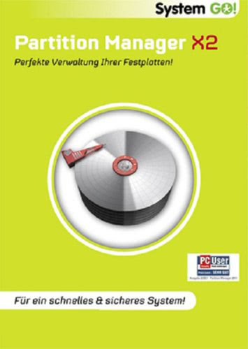 Verpackung von System GO! Partition Manager X2 [PC-Software]