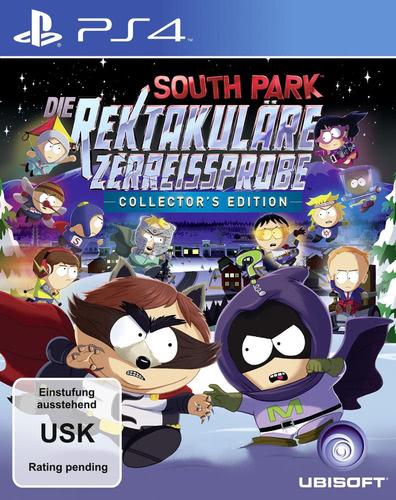 Verpackung von South Park: Die Rektakuläre Zerreißprobe Collector Edition [PS4]