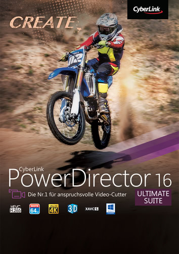 CyberLink PowerDirector 16 Ultimate Suite, ESD (Download) (PC)