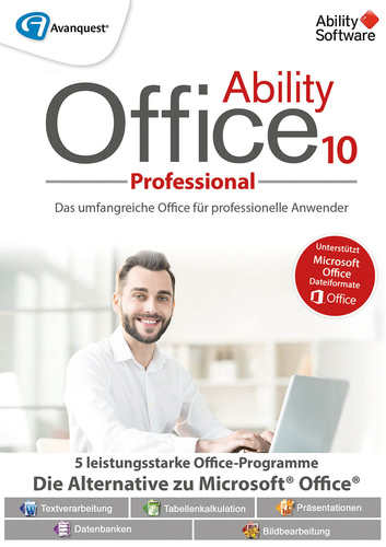 Verpackung von Ability Office 10 Pro [PC-Software]