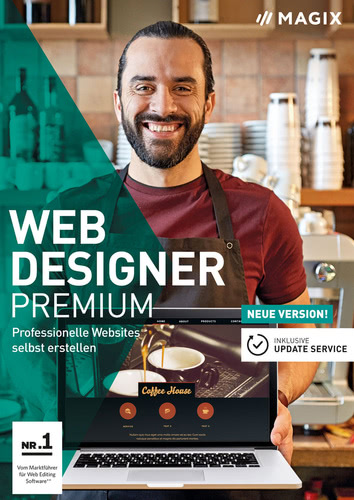Web Designer Premium (Version 2018) (Download), PC