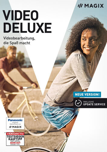 Verpackung von Magix Video Deluxe (2018) [PC-Software]