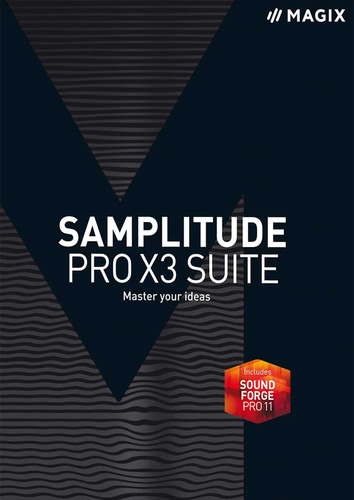 Packaging by Magix Samplitude Pro X3 Suite [PC-software]