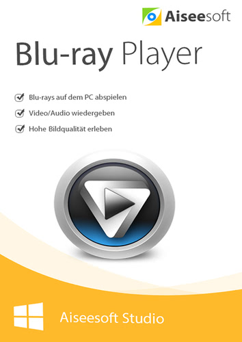 Verpackung von Aiseesoft Blu-ray Player (Version 2017) [PC-Software]