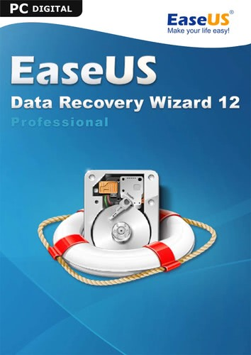 Verpackung von EaseUS Data Recovery Wizard PRO 12.6 [PC-Software]