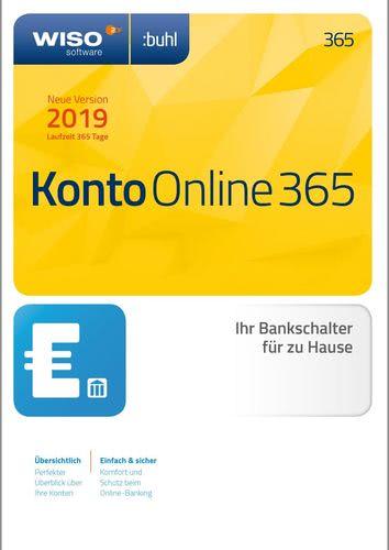 Verpackung von WISO Konto Online 365 Tage (Version 2019) [PC-Software]