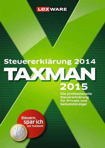 Verpackung von TAXMAN 2015 (für Steuerjahr 2014) [PC-Software]