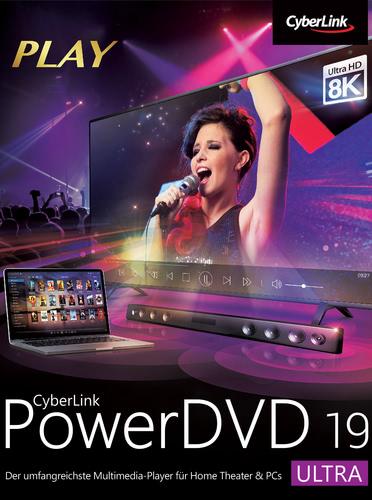 Verpackung von Cyberlink PowerDVD 19 Ultra [PC-Software]