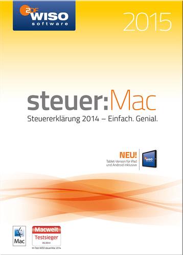Verpackung von WISO Steuer:Mac 2015 (für Steuerjahr 2014) [Mac-Software]