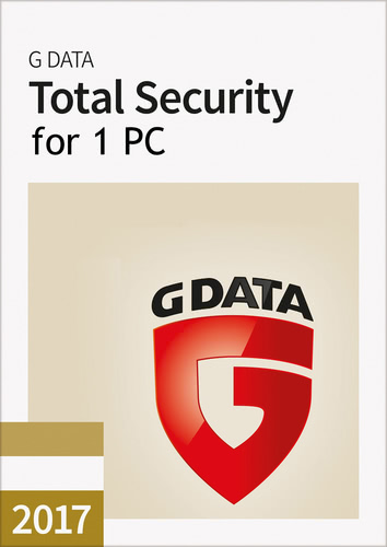 Packaging by G Data Total Security 2017 - 1 User - 12 Months [PC-software]