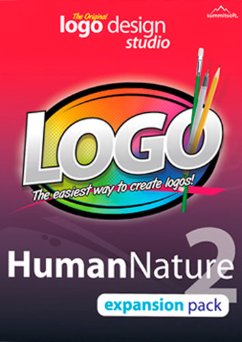 Packaging by Logo Design Studio Expansion Pack: Human Nature 2 [PC-software]