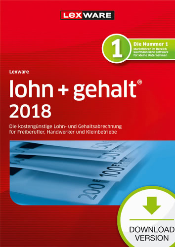 Lexware lohn+gehalt 2018 Download – Abo Version