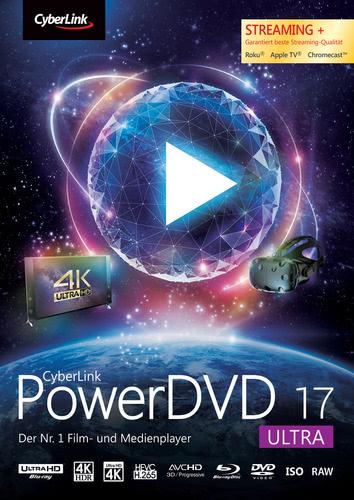 Verpackung von CyberLink PowerDVD 17 Ultra [PC-Software]