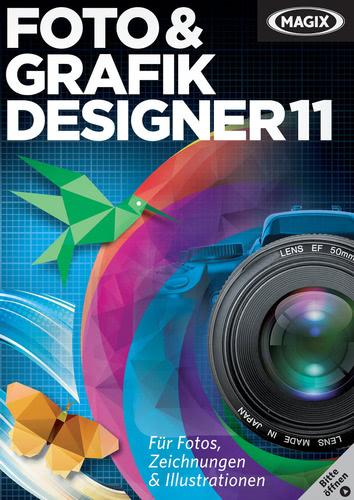 Verpackung von Magix Foto & Grafik Designer 11 [PC-Software]