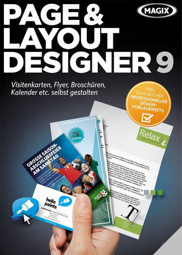 MAGIX Page&Layout Designer 9, ESD (Download) (PC)
