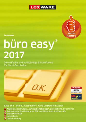 Verpackung von Lexware büro easy 2017 Jahresversion (365-Tage) [PC-Software]